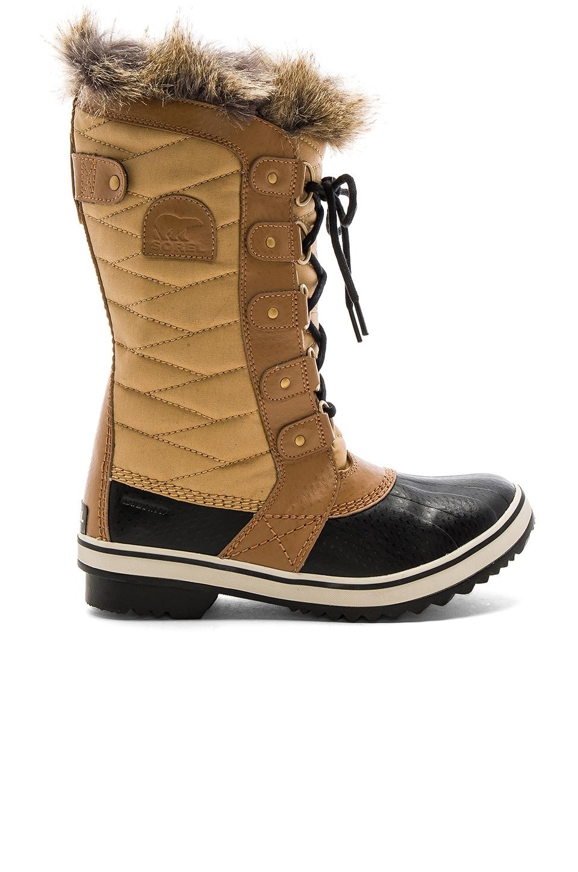 Sorel Tofino II Boot with Faux Fur in Fawn