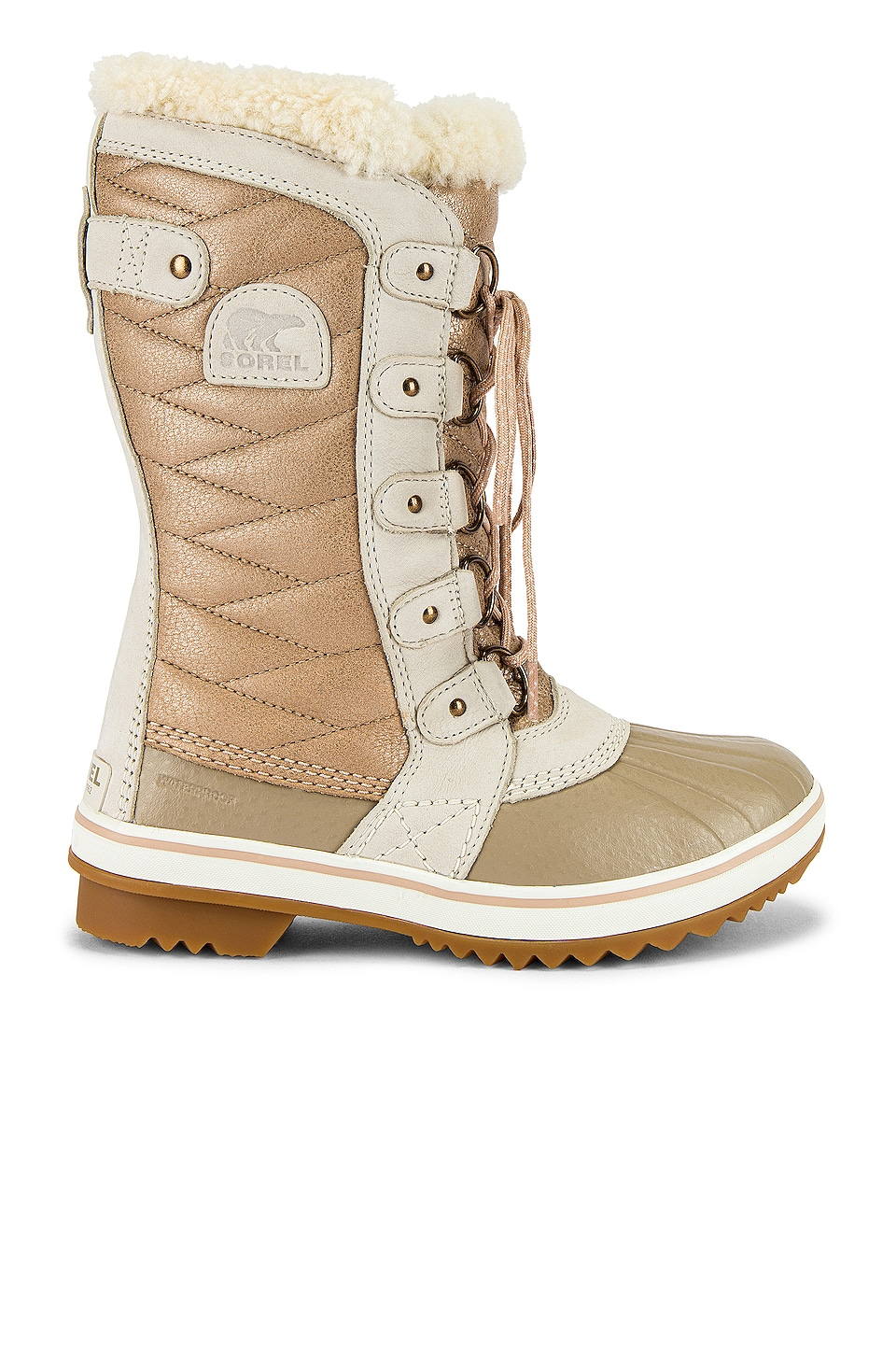 Sorel Tofino II Lux Boot in Natural Tan