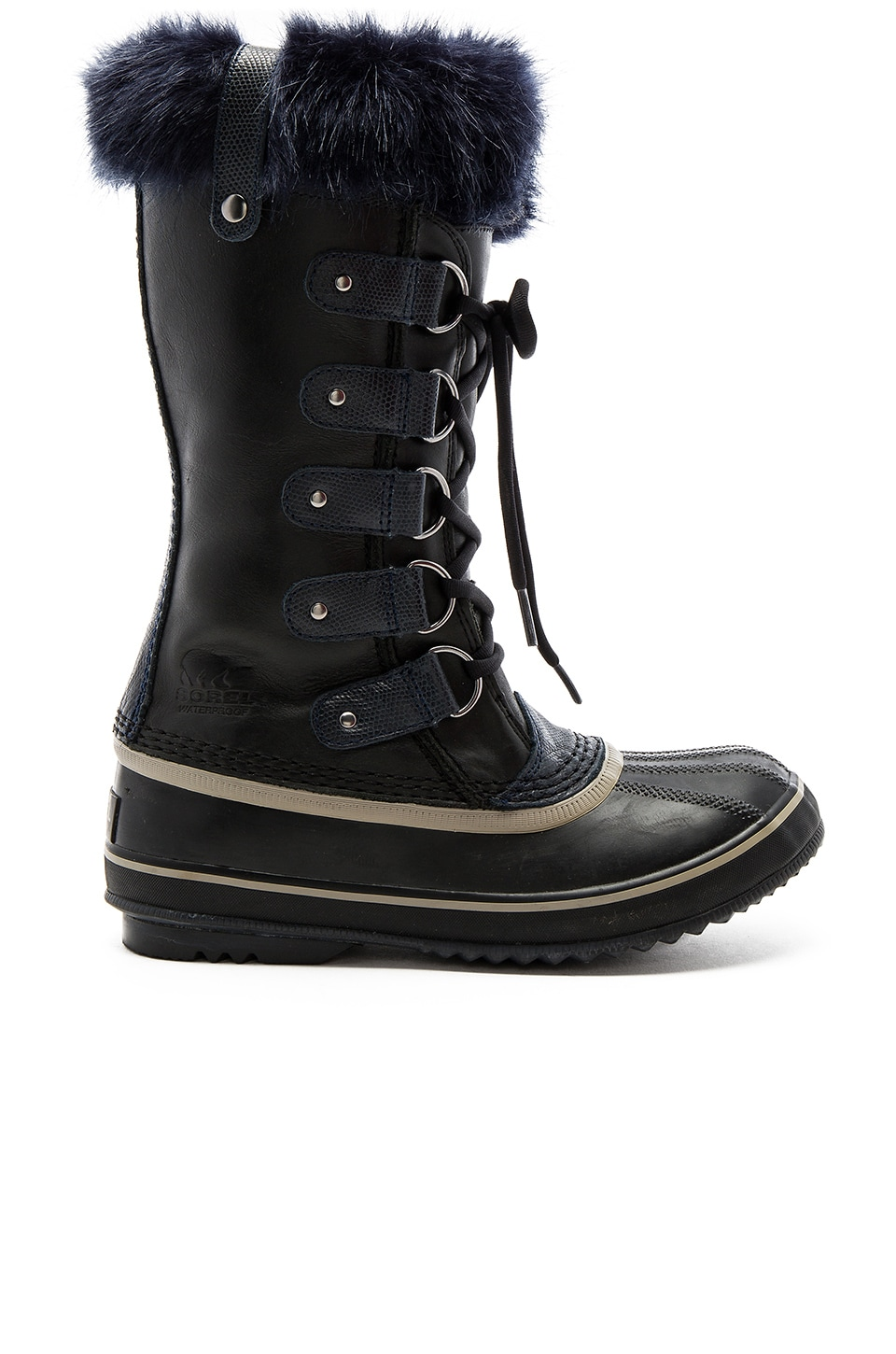 Joan of Arctic Obsidian Boot with Faux Fur by Sorel