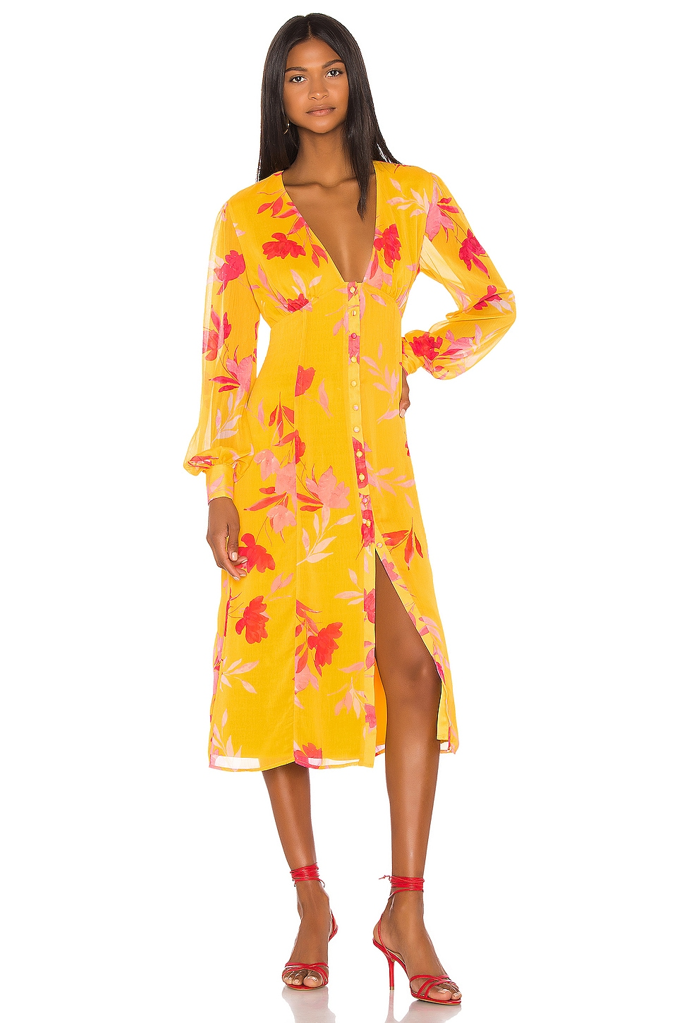 Song of Style ROBE MI-LONGUE KOFI