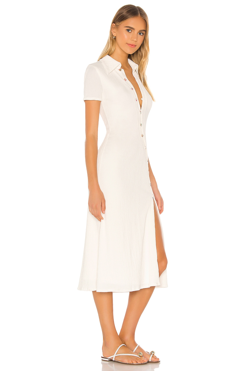 Polly Midi Dress, view 2, click to view large image.
