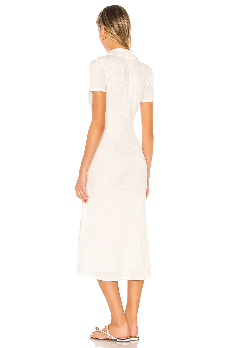 Polly Midi Dress, view 3, click to view large image.