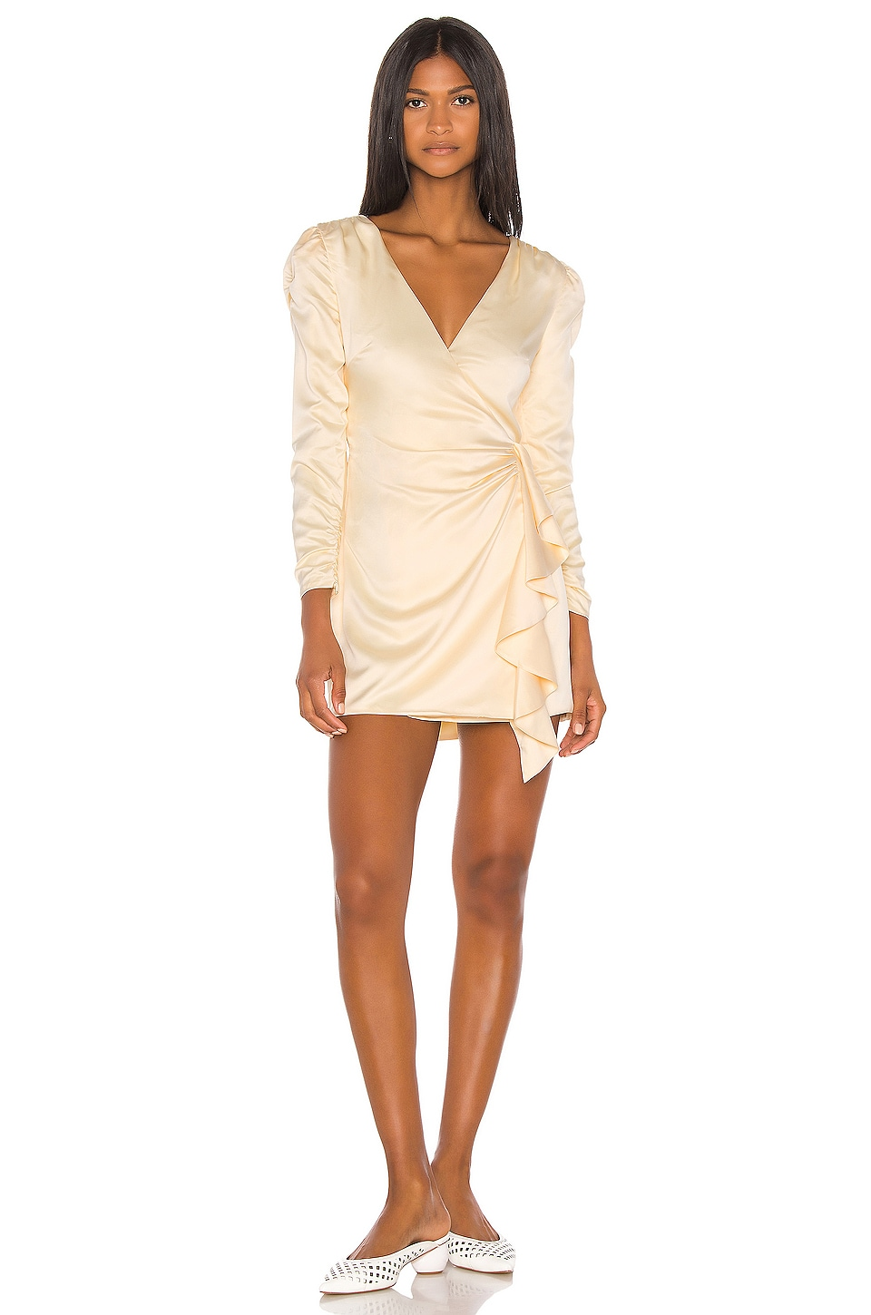 Song of Style Dala Mini Dress in Cream