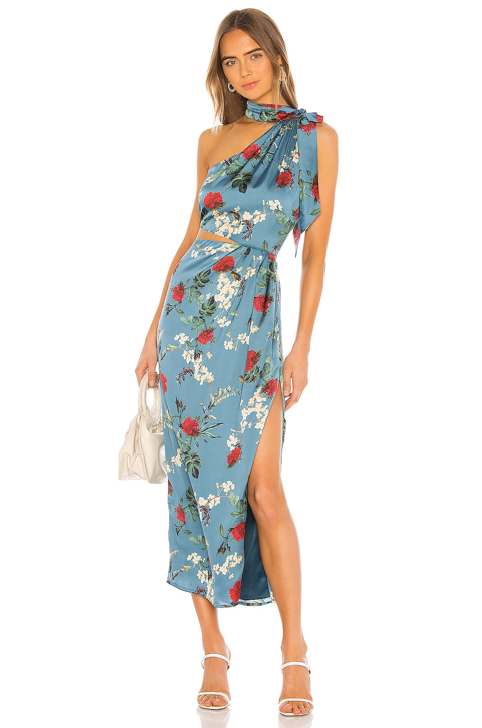 Song of Style Jules Maxi Dress in Antique Blue