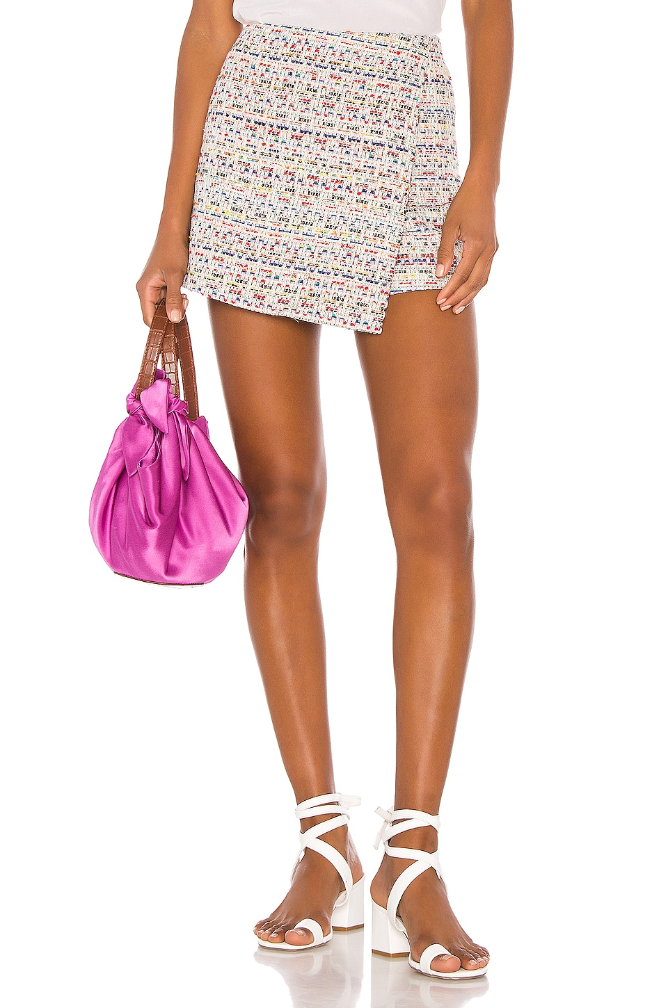 Song of Style Cloe Skort in Rainbow Multi