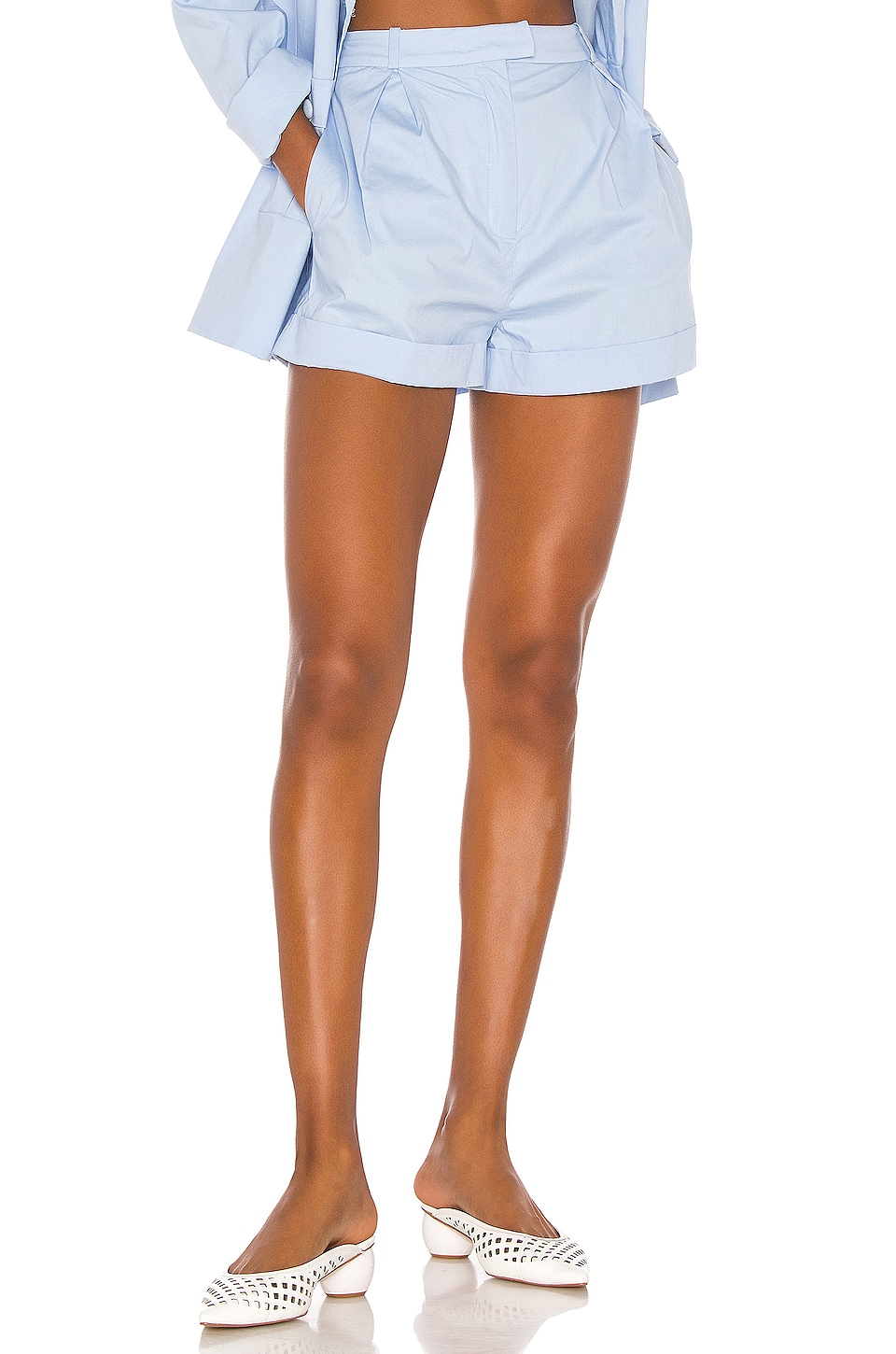 Song of Style Greta Short in Powder Blue