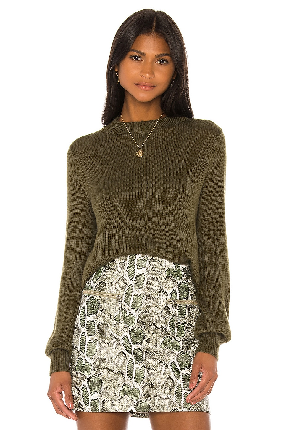 Song of Style Ollie Sweater in Green