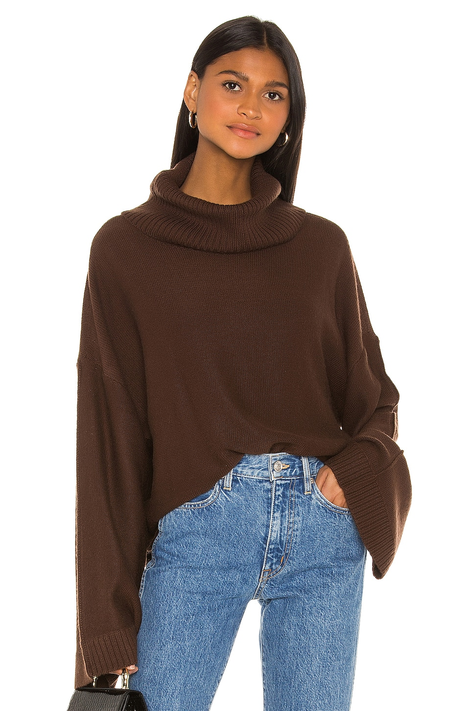 Song of Style Paula Sweater in Brown