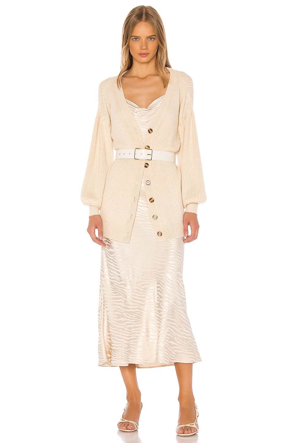 Song of Style Vienna Cardigan in Ivory