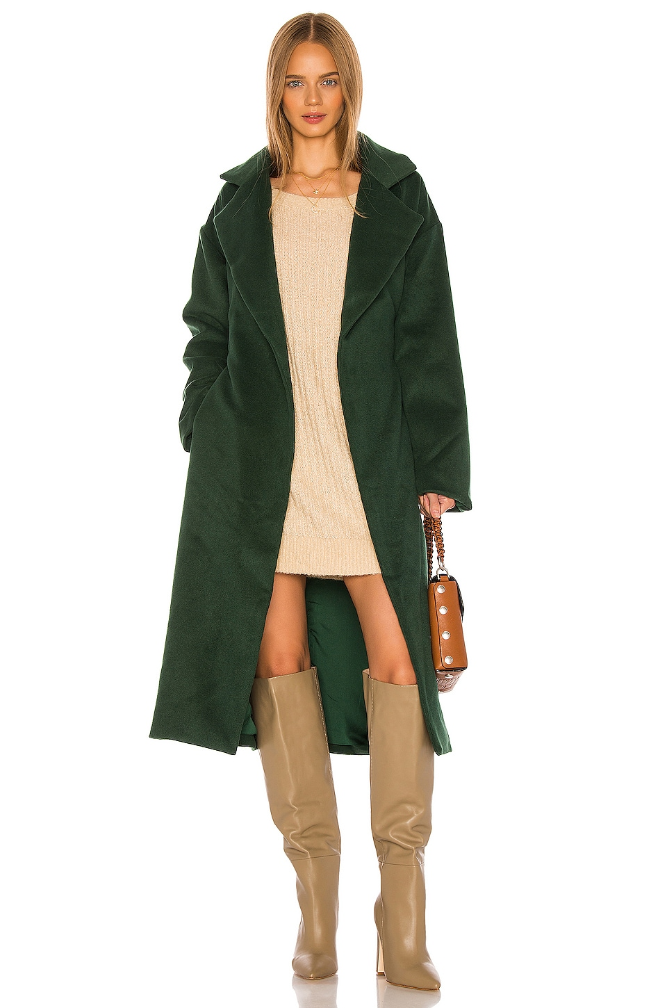 Song of Style Eloise Coat in Juniper Green