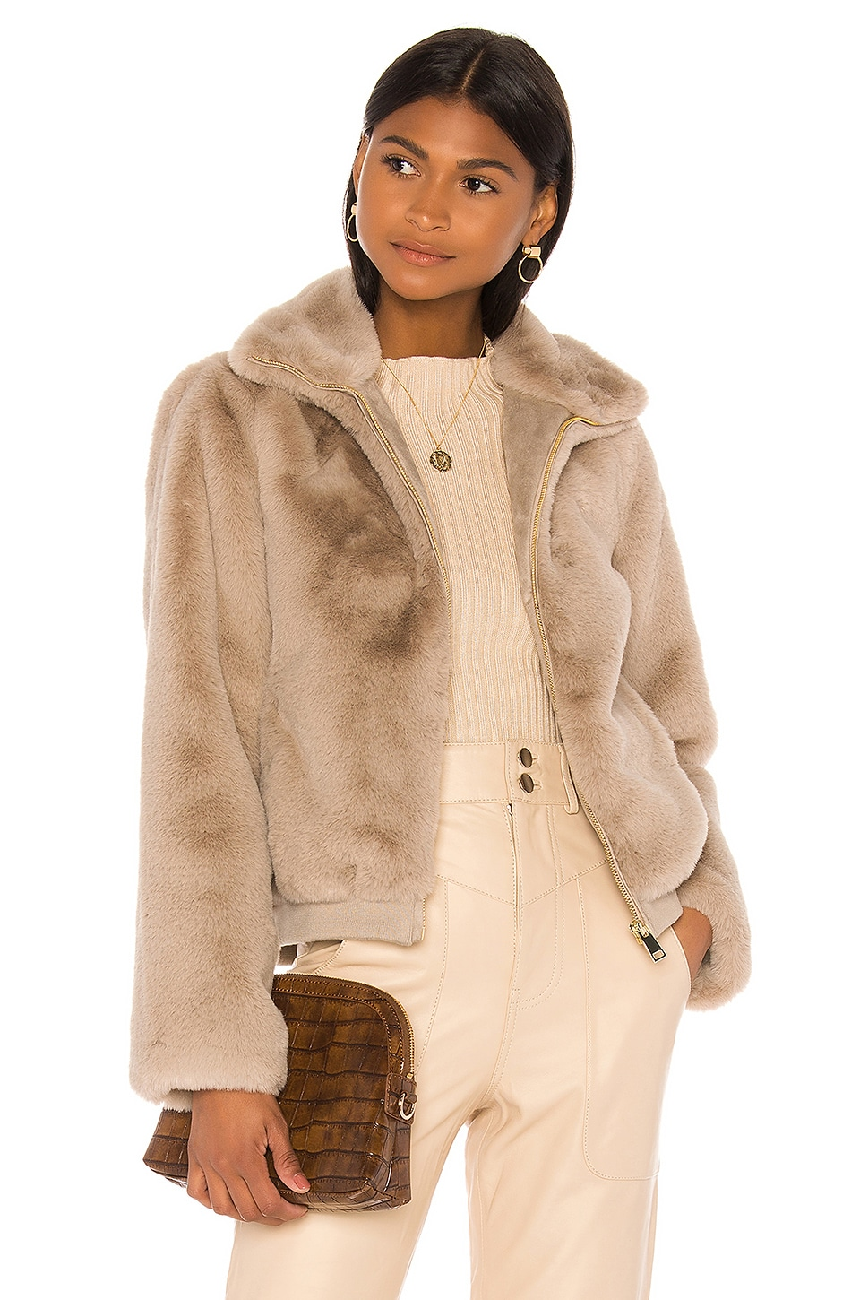 Song of Style Nancy Jacket in Taupe