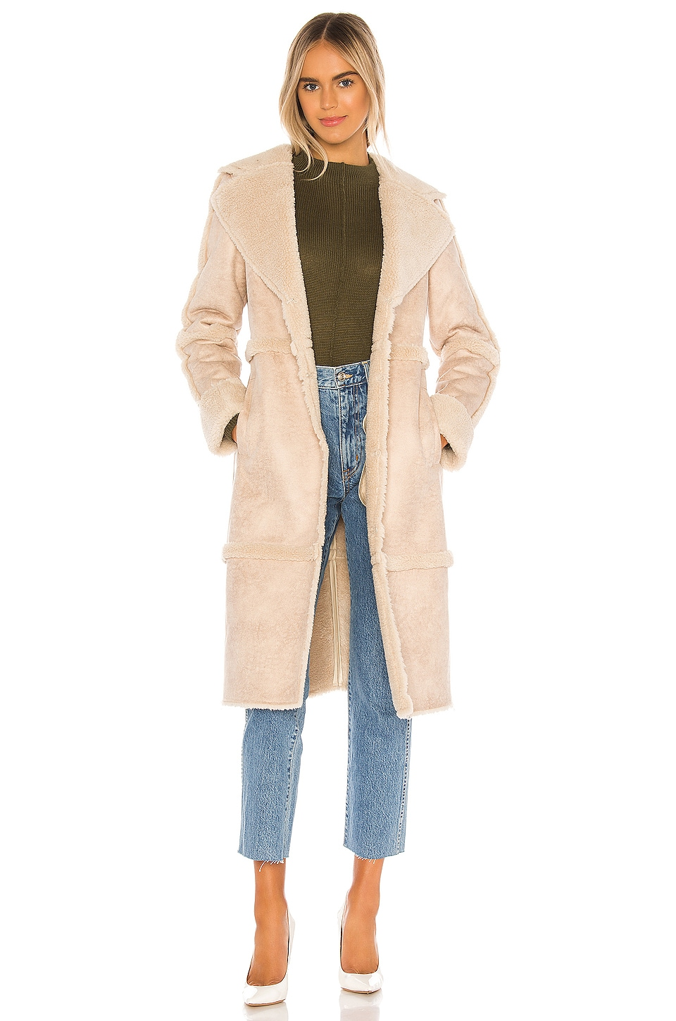 Song of Style Magnolia Coat in Fawn Beige