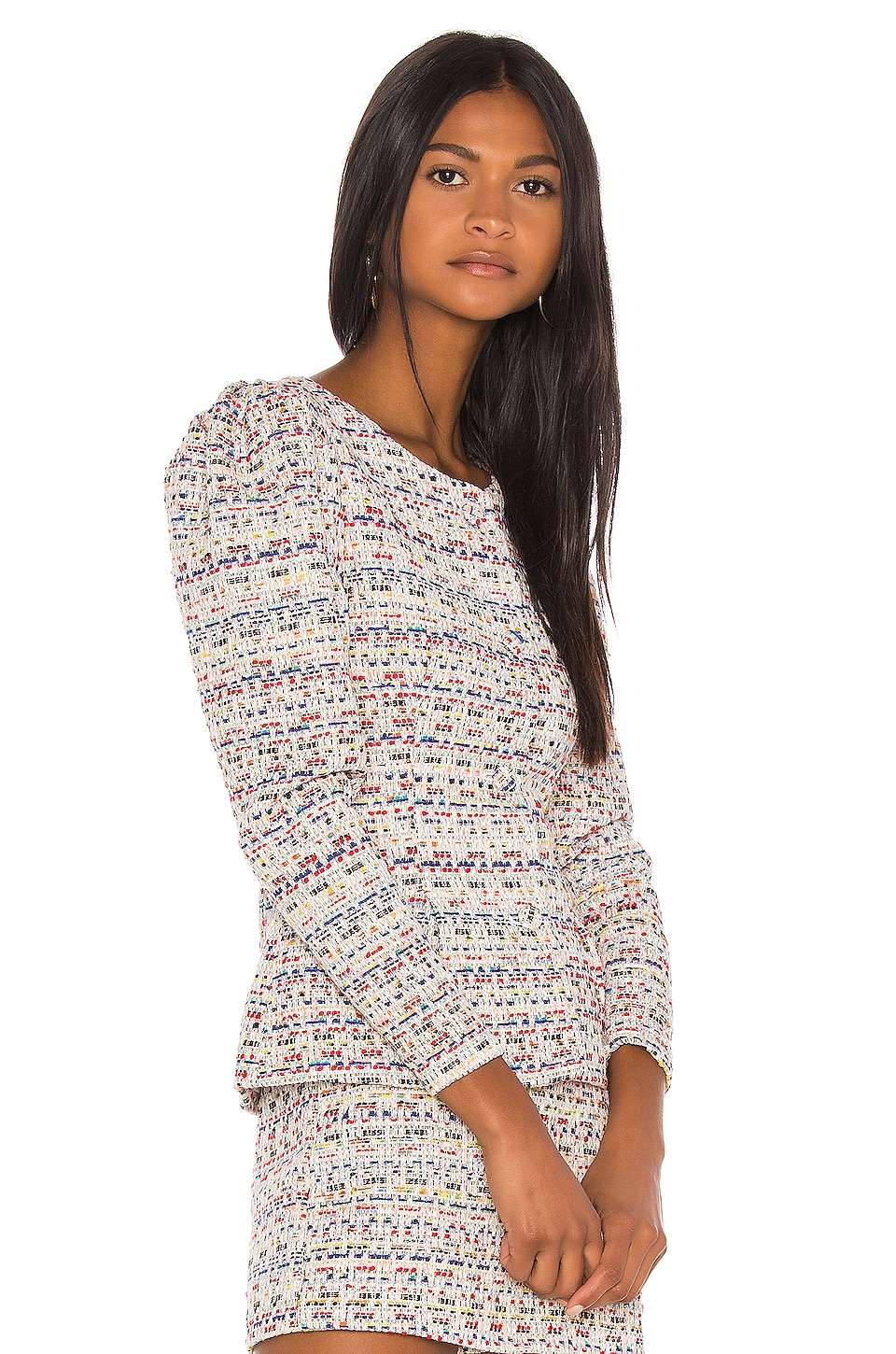 Song of Style Elma Jacket Top in Rainbow Multi