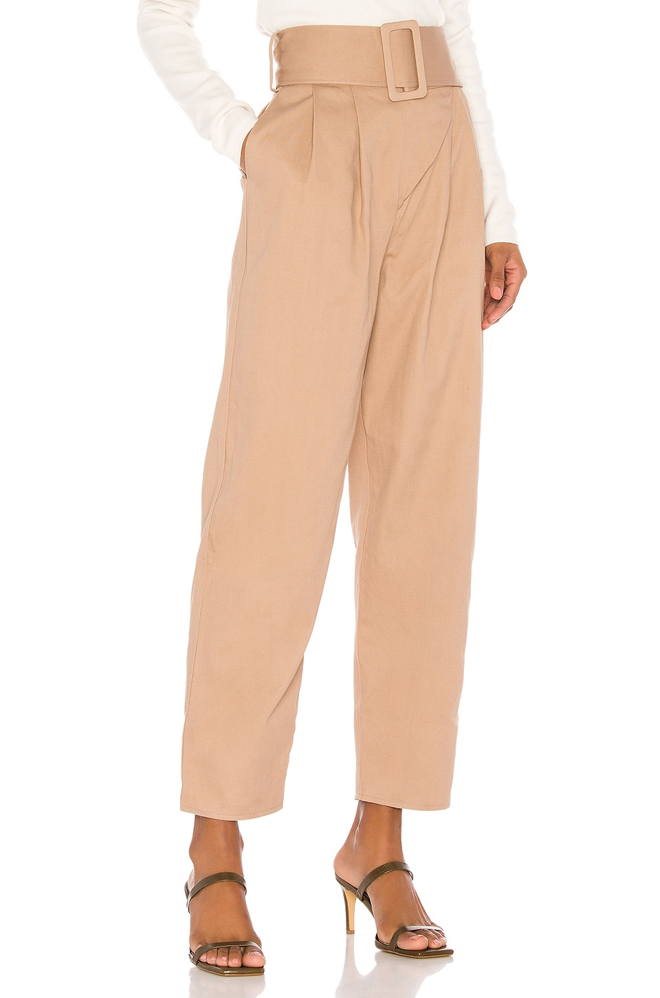 Song of Style Salem Pant in Nude Taupe