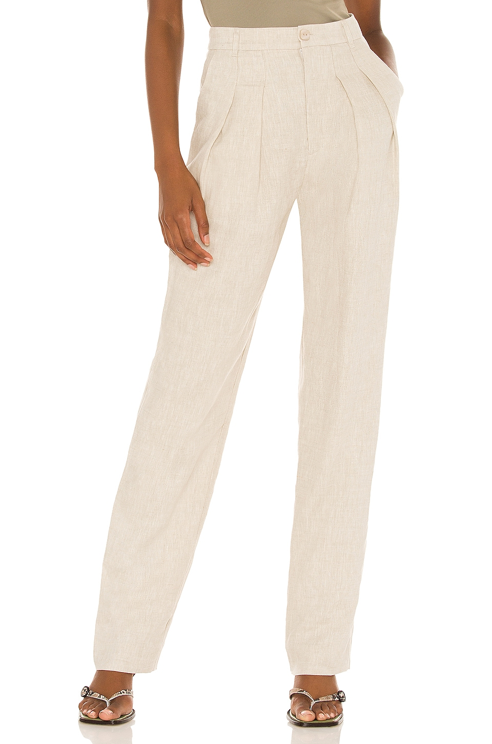 Song of Style Coraline Pant in Beige