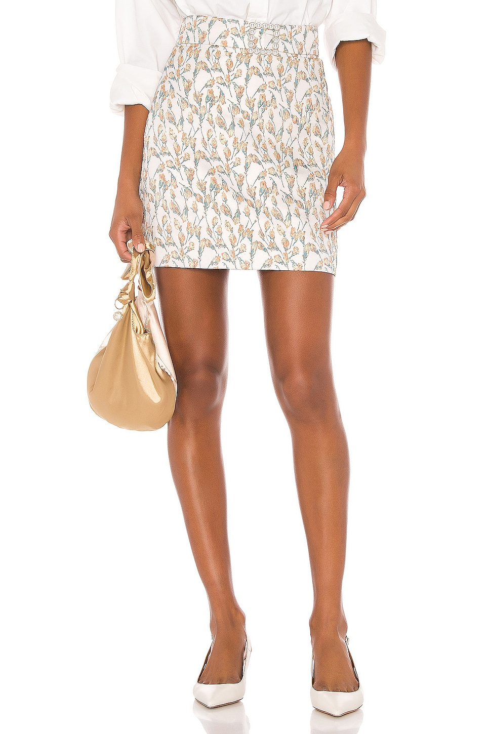 Song of Style Flora Mini Skirt in Tulip Multi