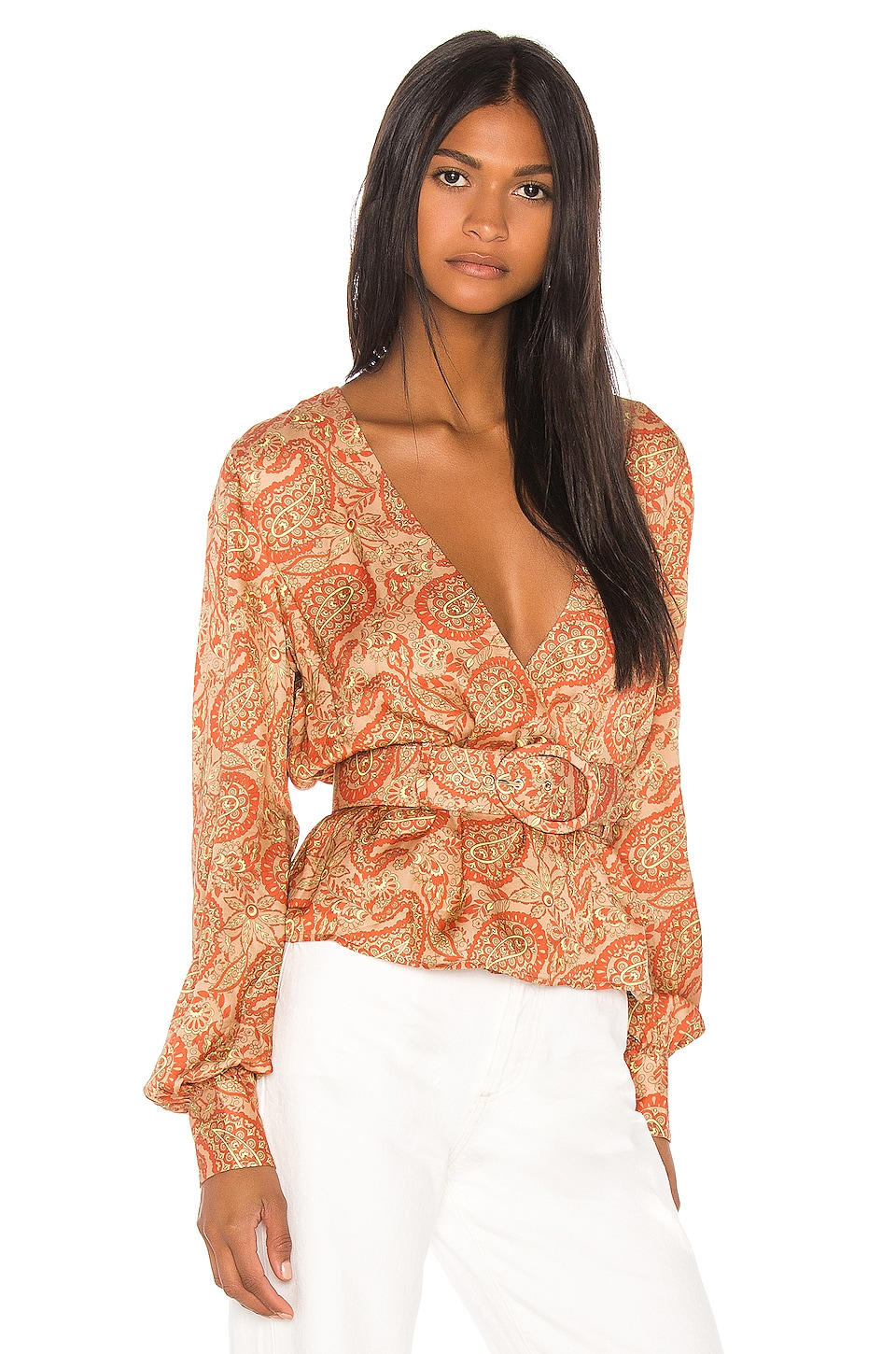 Song of Style Arden Top in Moroccan Multi