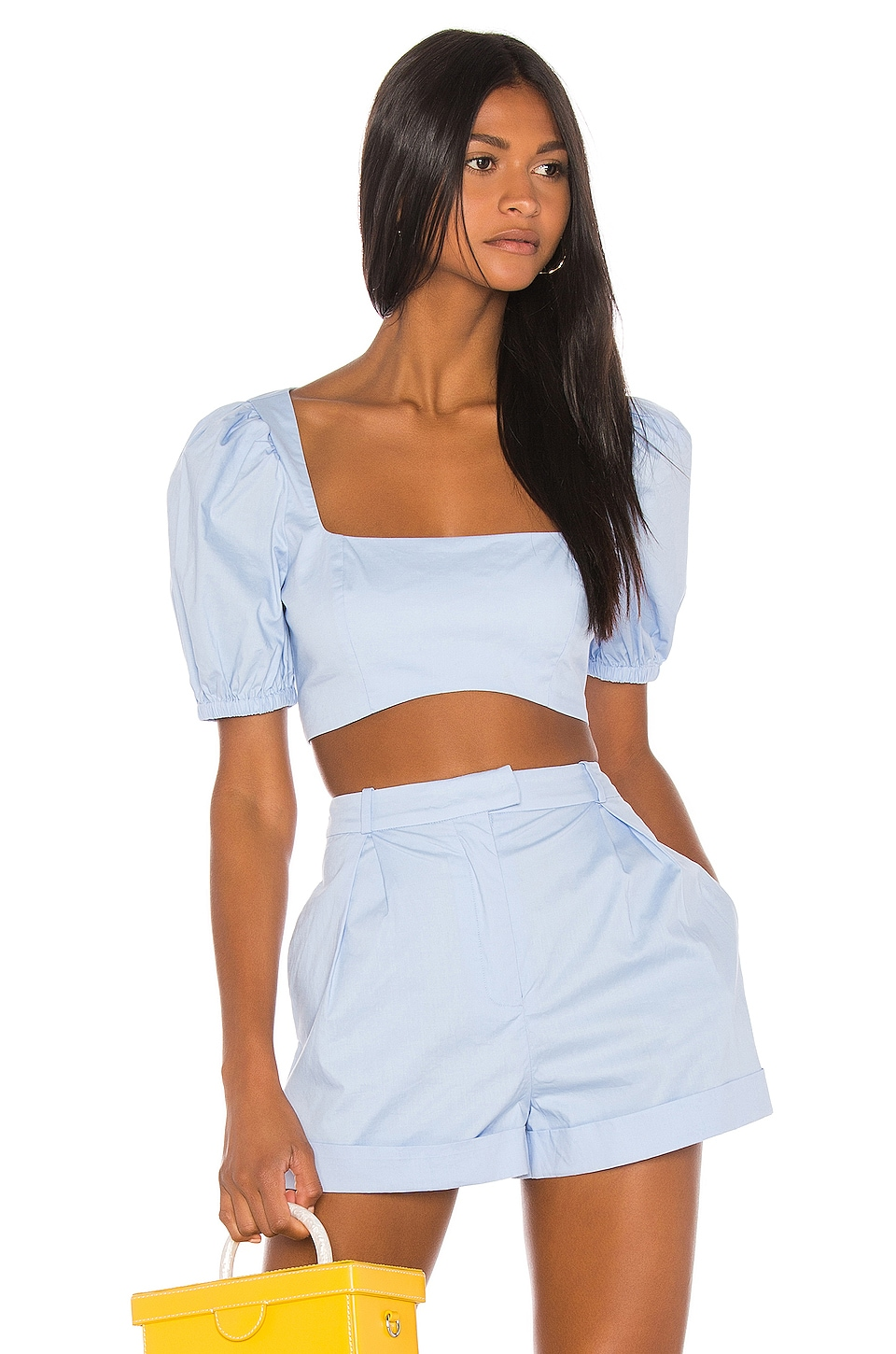 Song of Style Tora Top in Powder Blue