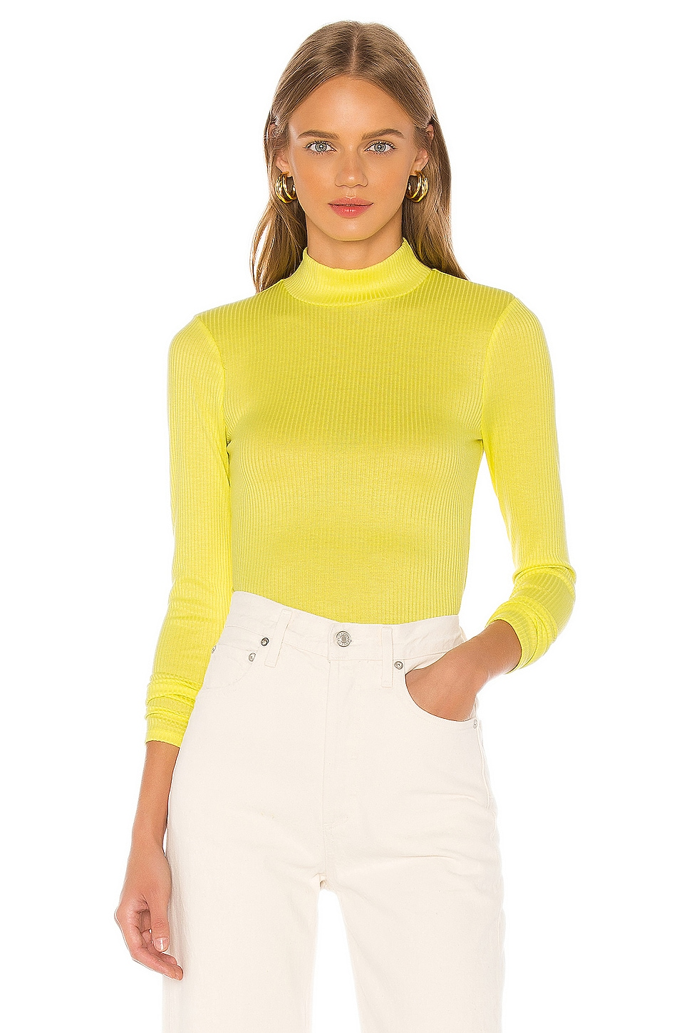 Song of Style TOP COL ROULÉ PENNY