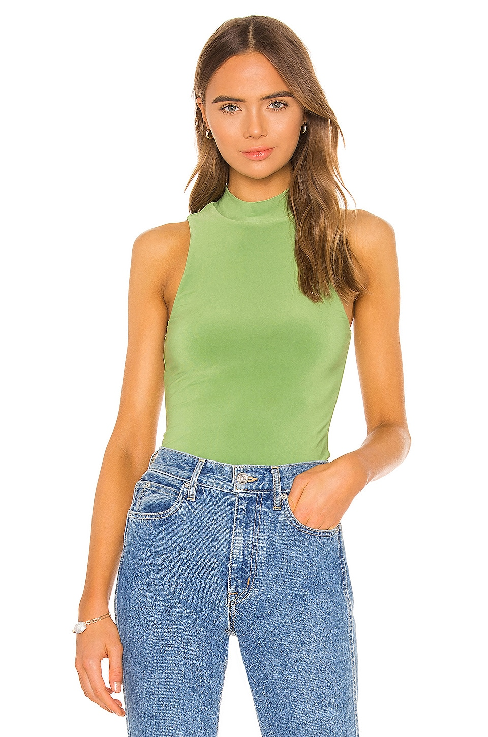Song of Style Crawford Top en Moss Green
