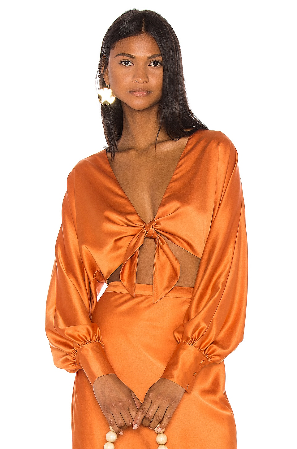 Song of Style Neely Top in Copper