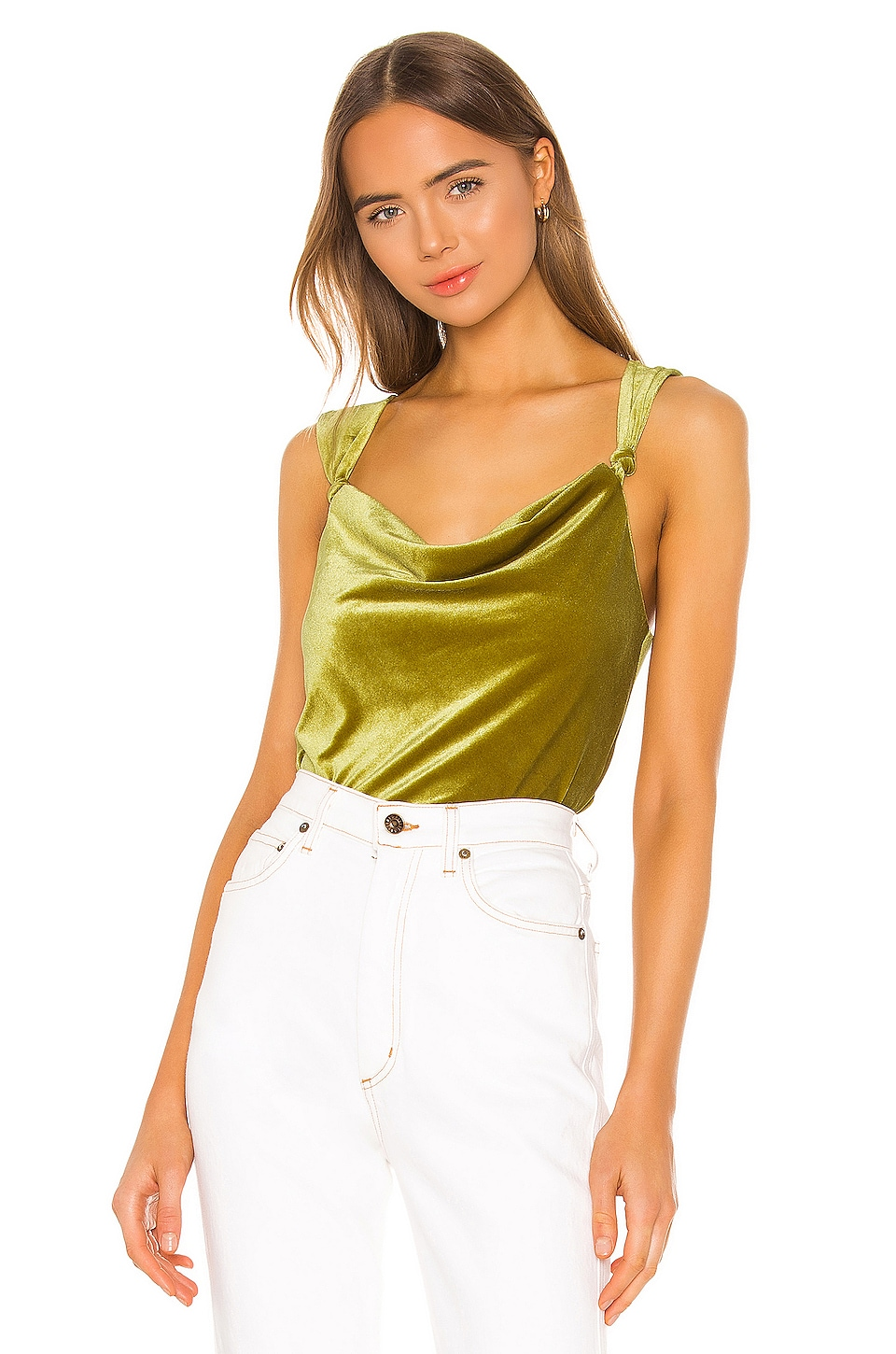 Song of Style Carina Top in Olive Green