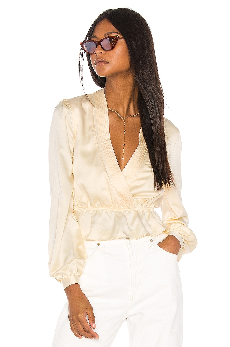 Song of Style Jennica Top in Cream