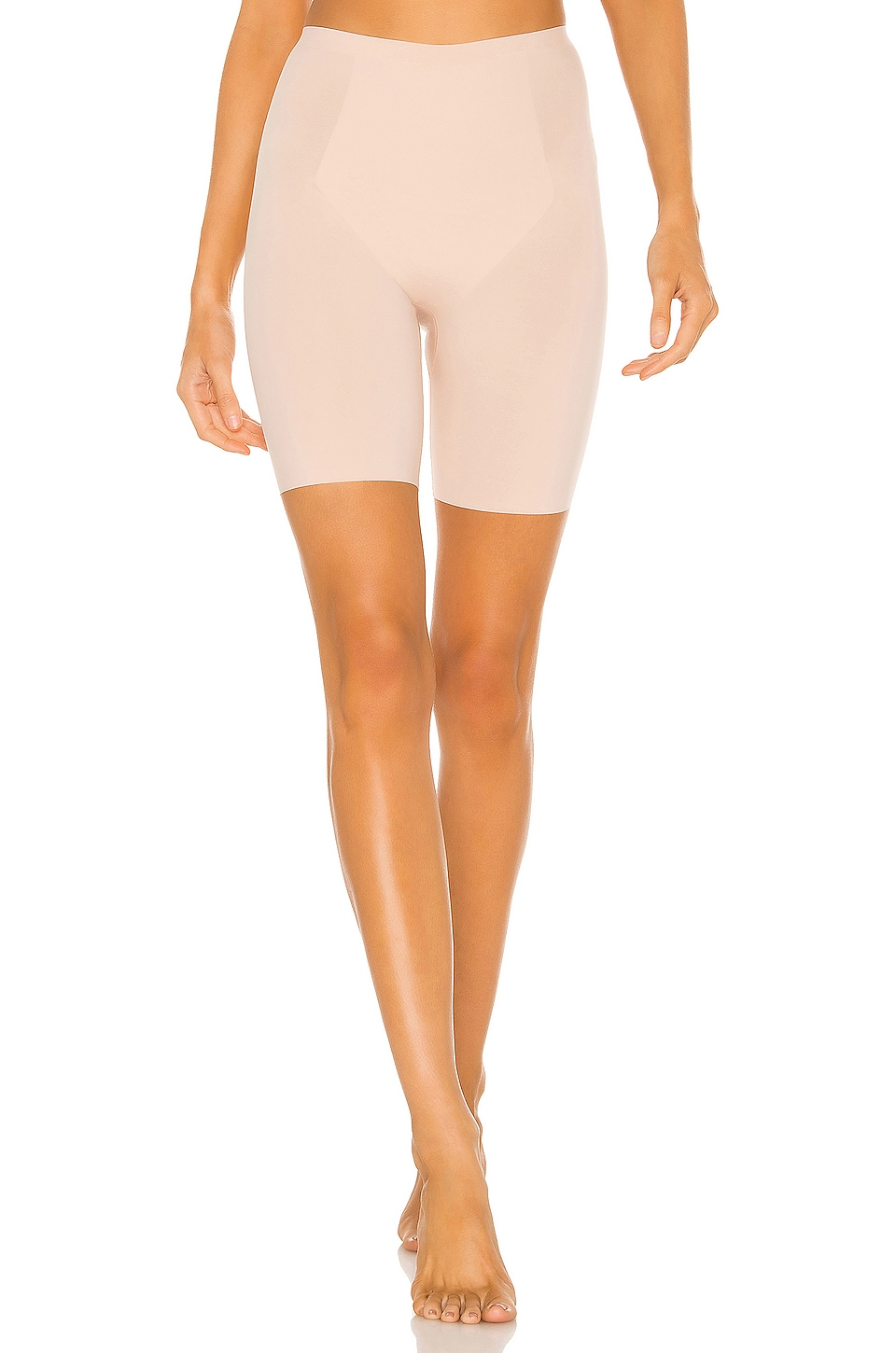 SPANX Thinstincts Mid Thigh Short in Soft Nude
