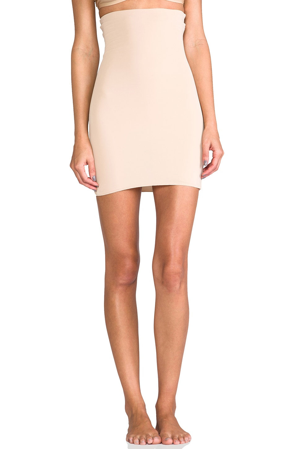 SPANX Lust Have High-Waist Half Slip in Nude