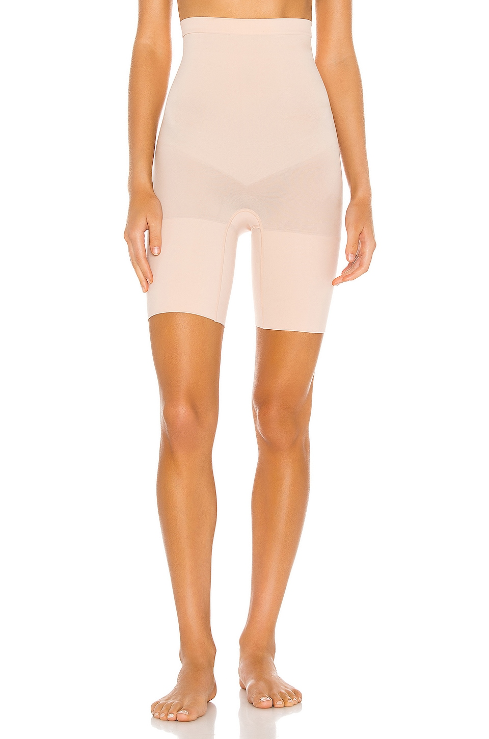 SPANX Super Higher Power Short in Soft Nude