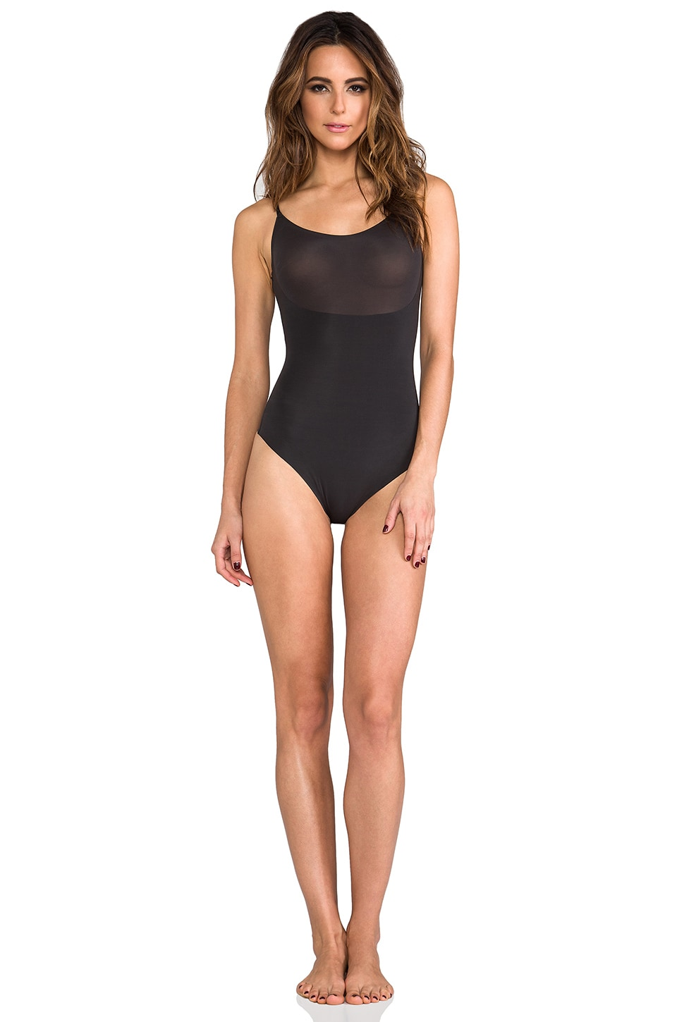 Trust Your Thin-stincts Thong Bodysuit at REVOLVE