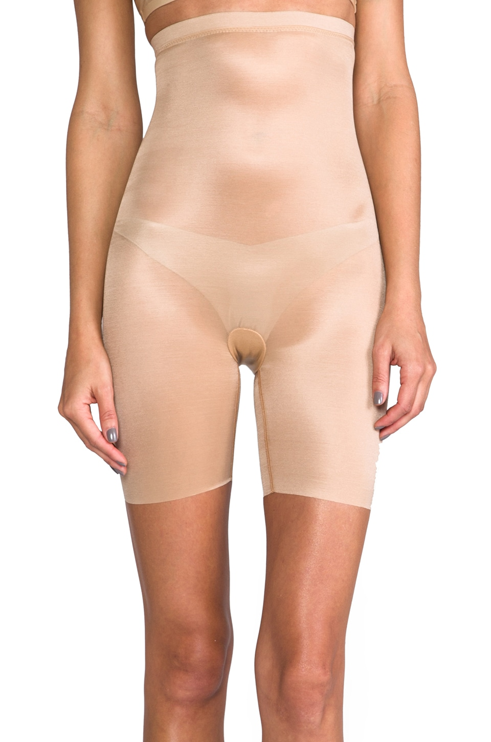 SPANX Skinny Britches High Waisted Short in Nude