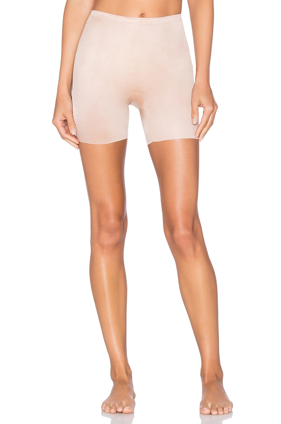 SPANX Skinny Britches Mid Thigh Short in Naked 2.0