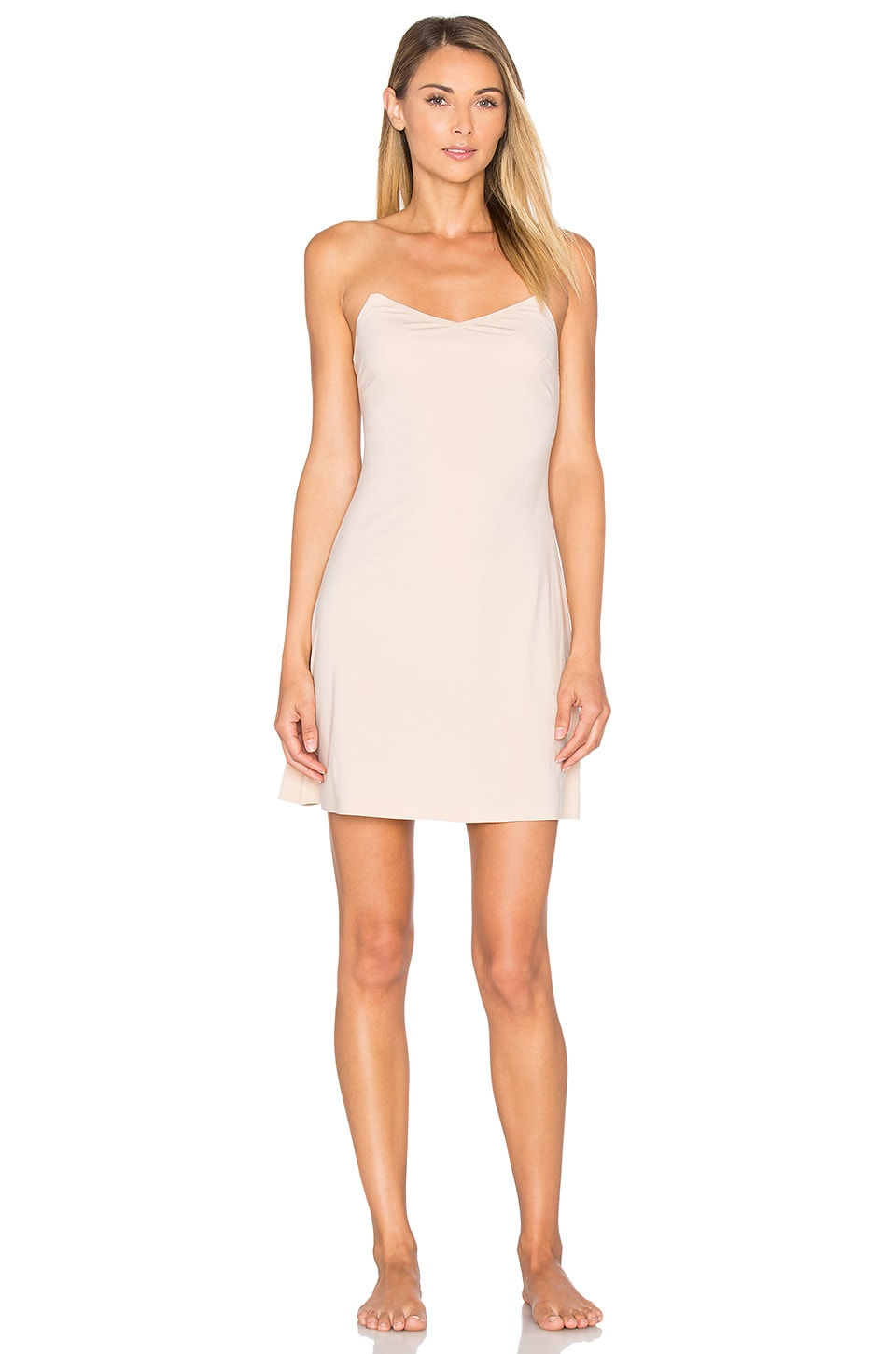 cae3812dc50ae SPANX Thinstincts Low Back Slip in Soft Nude | REVOLVE