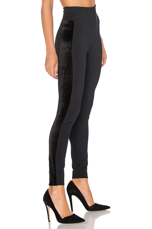 SPANX Ponte Velvet Legging in Very Black