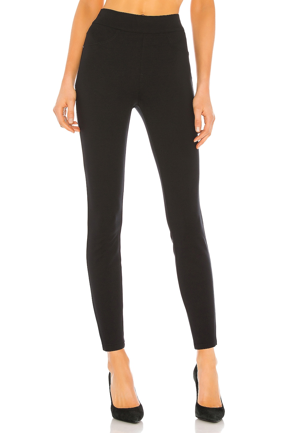 SPANX The Perfect Black Pant, Ankle 4-Pocket en Classic Black