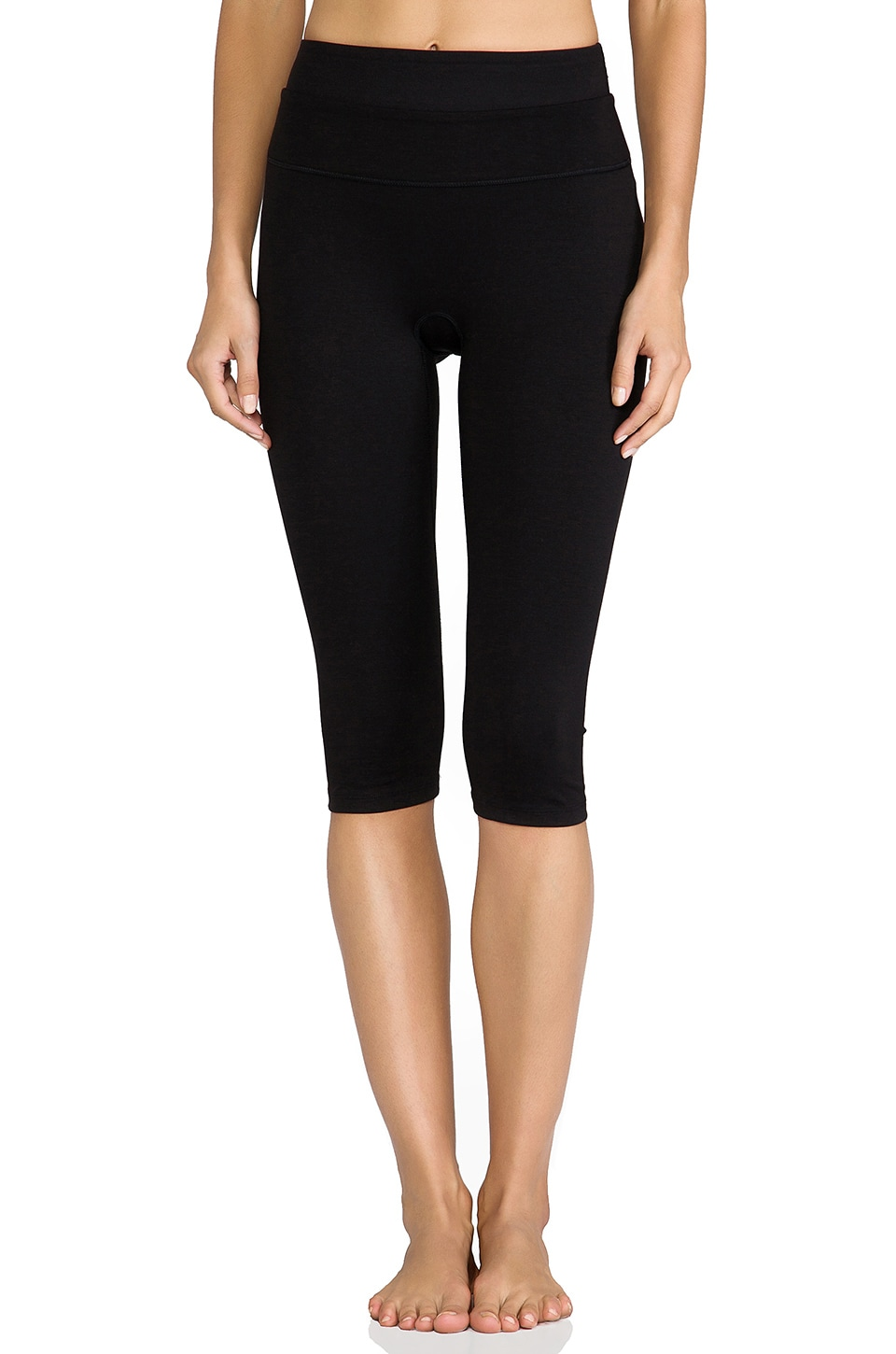 SPANX Power Knee Pant in Black