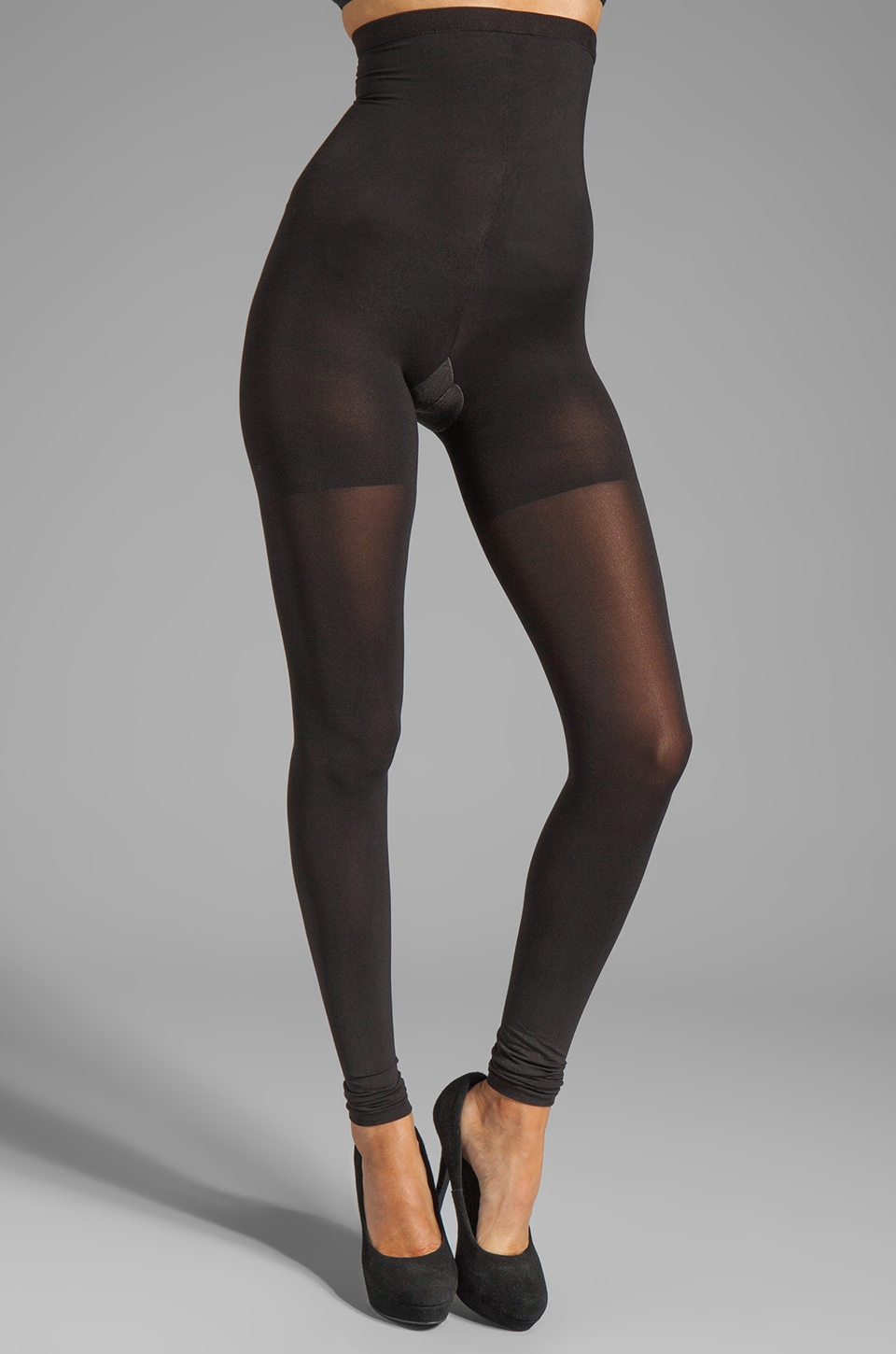 SPANX High-Waisted Convertible Legging in Black