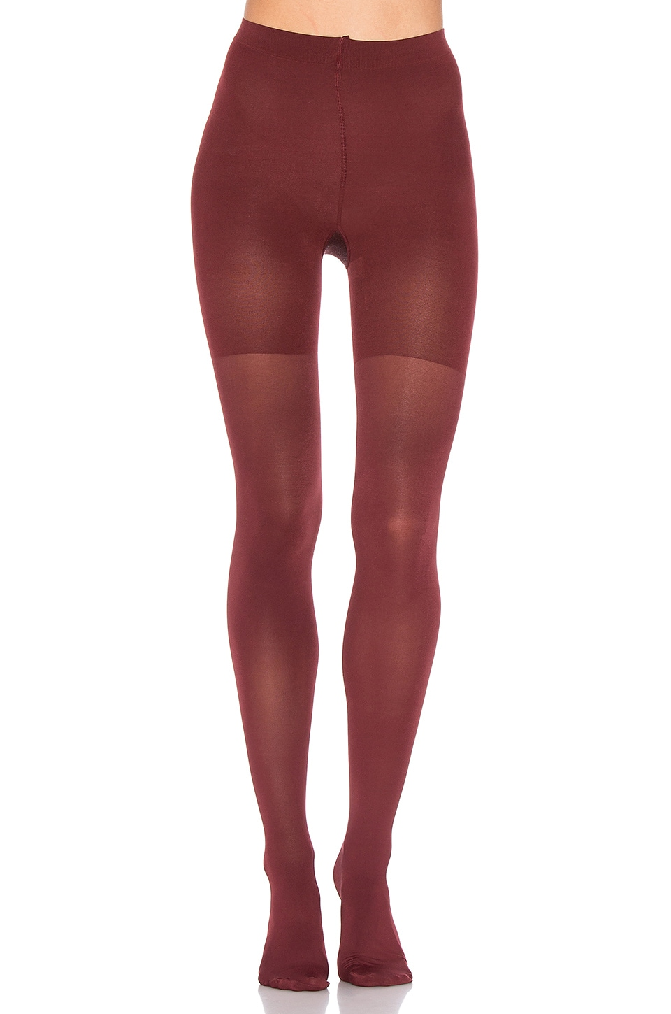 SPANX Luxe Leg Tights in Syrah Wine