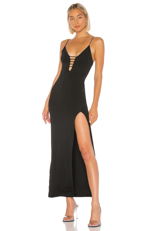 superdown Aloni Maxi Dress in Black