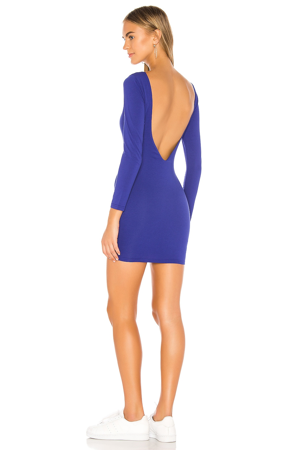 superdown Pennie Open Back Dress in Cobalt