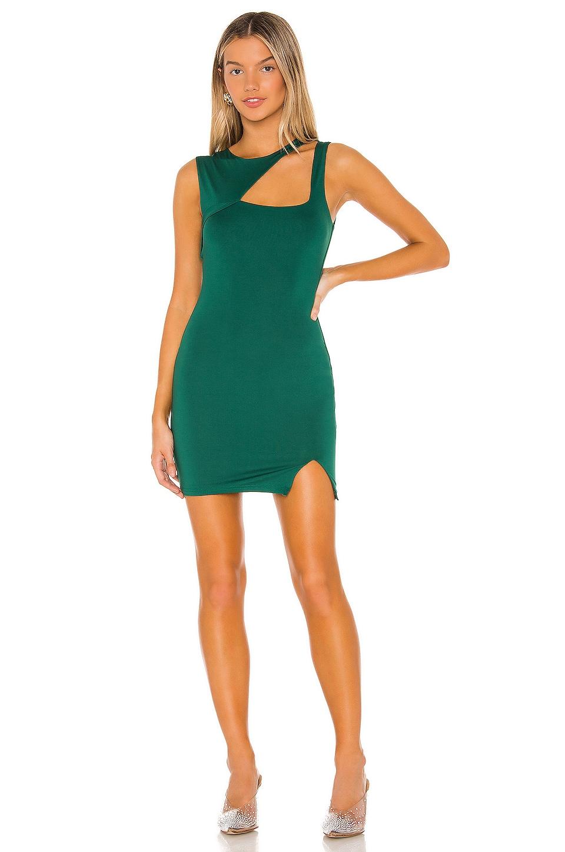 superdown Jojo Cut Out Dress in Green