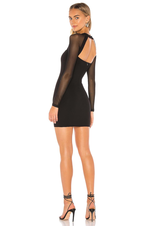 superdown Halley Bodycon Dress in Black