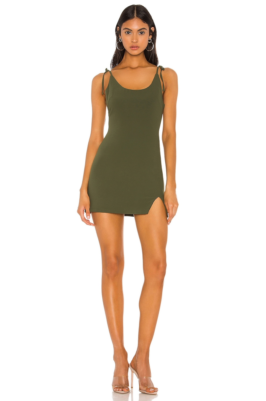 superdown ELLI 타이 스트랩 미니 드레스