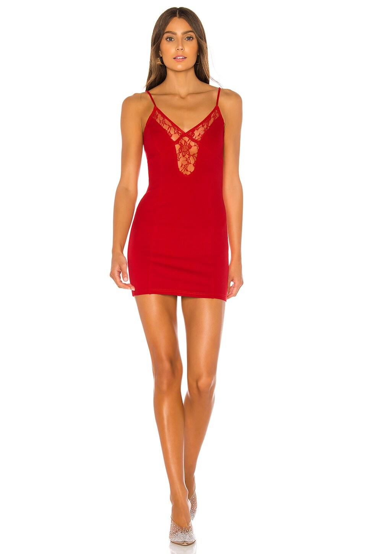 superdown Carmella Mini Dress in Red