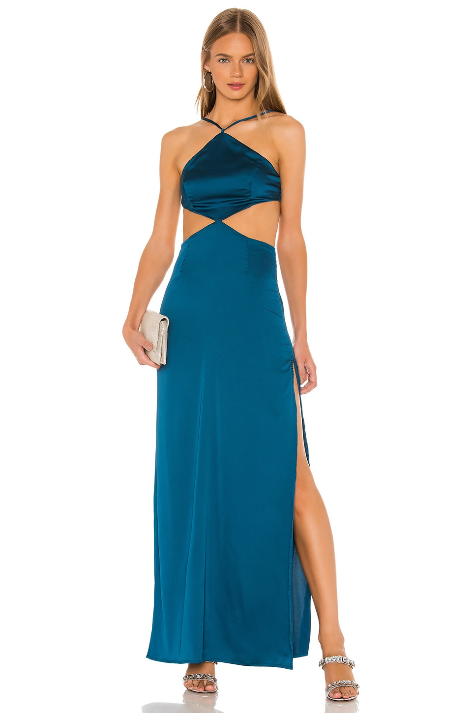 superdown Rony Maxi Dress in Teal