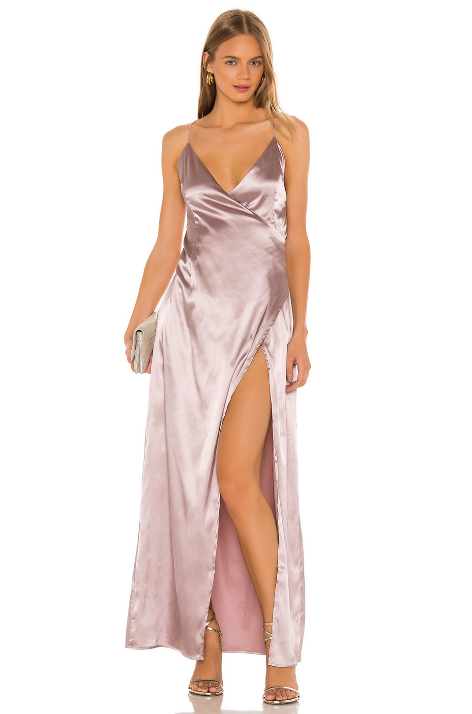 superdown Dolly Maxi Dress in Mink