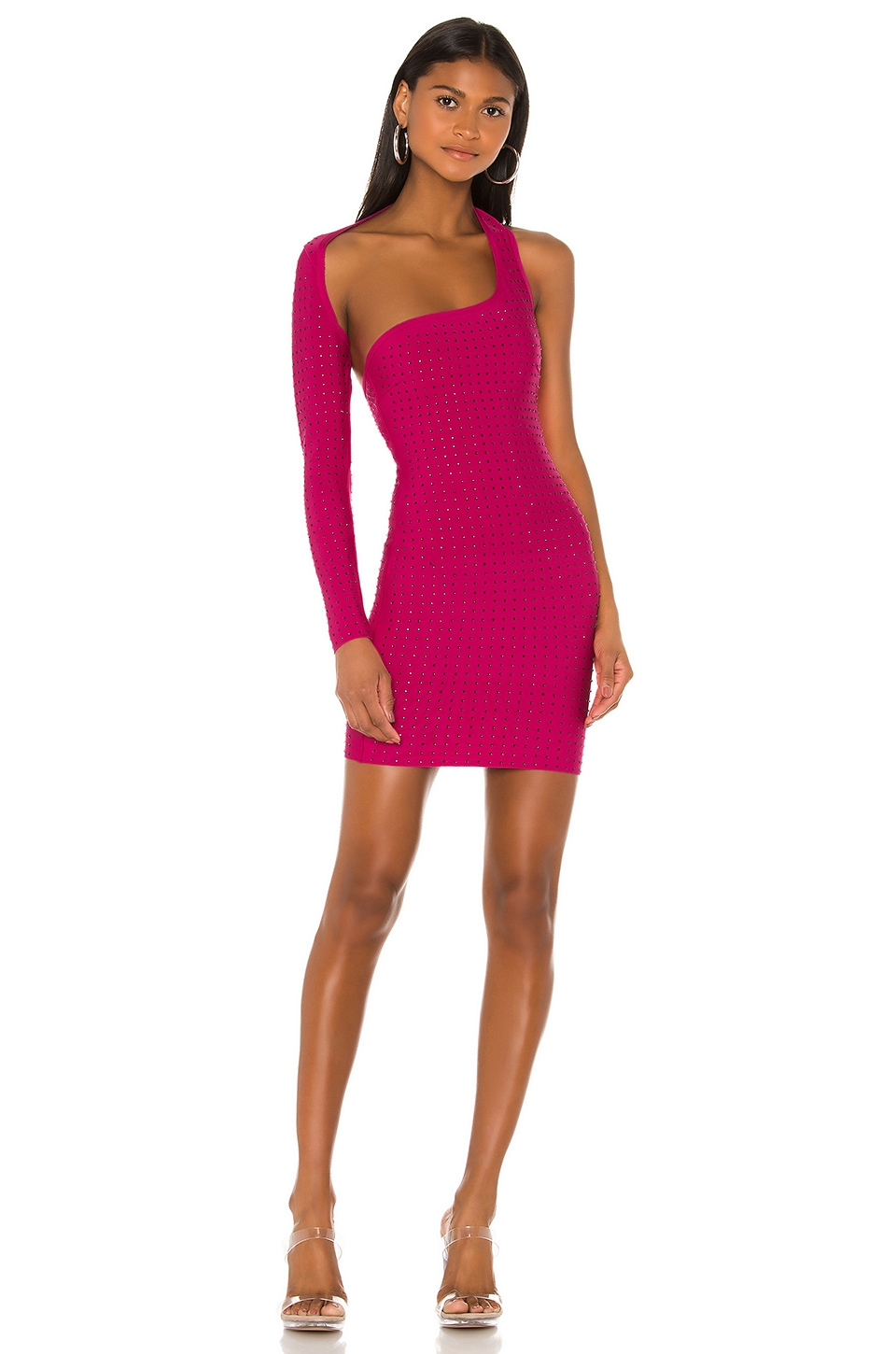 superdown x Draya Michele Icing on the Cake Dress in Pink