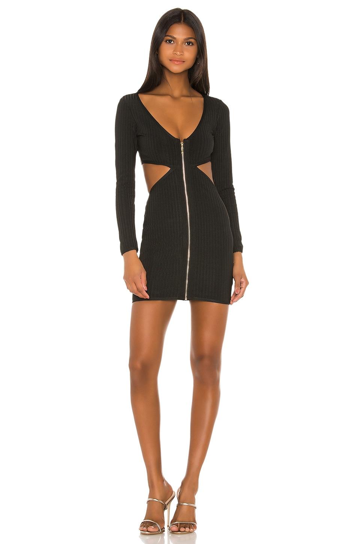 superdown Roza Mini Dress in Black
