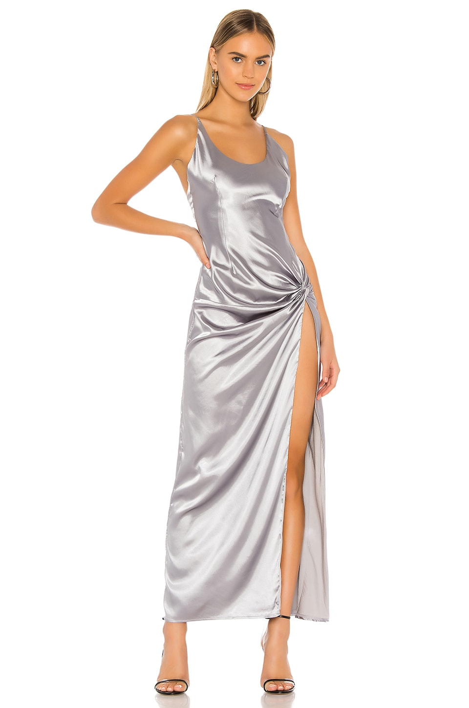 superdown Cerina Maxi Dress in Silver